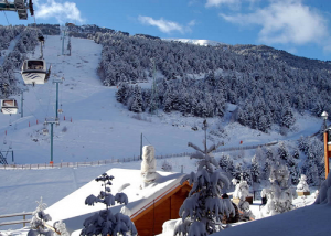 Сектор Сольдеу на горнолыжном курорте Гранд Валира в Андорре