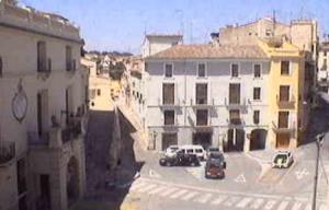 Площадь города Онтеньенте в Испании