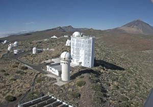 Обсерватория Тейде на острове Тенерифе