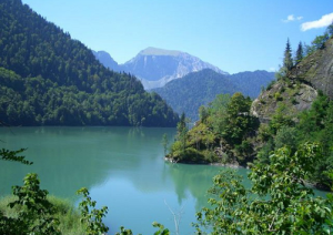 Отдых в Абхазии, Абхазия-озеро