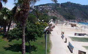 Пляж Клеопатра в городе Аланья