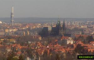 Пражский Град в Праге в Чехии