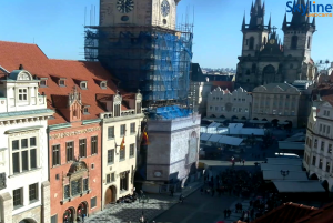 Староместская площадь в Праге в Чехии