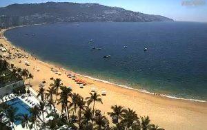 Пляж Икакос в Акапулько