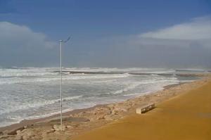 Пляж Кошта-да-Капарика в Португалии
