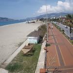 Набережная города Аланья в Турции