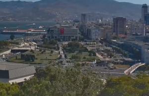 Площадь Конак в городе Измир в Турции