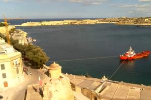 Великая Гавань на Мальте из отеля British