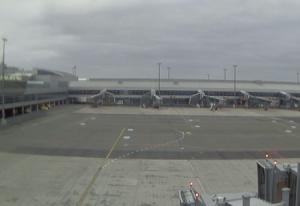 Веб камера в аэропорту Праги, Чехия