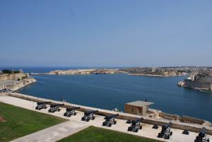 Великая Гавань в городе Валлетта на Мальте