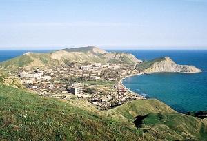 Курорт Крыма Орджоникидзе