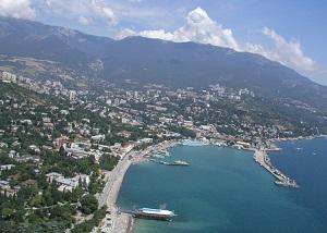Курорт Крыма Алушта