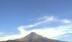 Вулкан Колима в Мексике