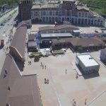 Главная площадь курорта Красная Поляна
