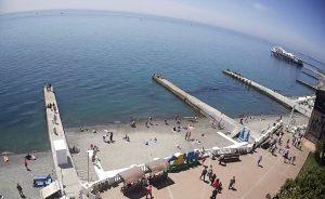 Городской пляж «Маяк» в Сочи