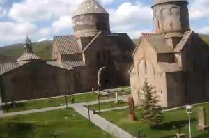 Монастырь Кечарис в Цахкадзор в Армении