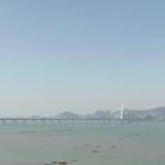 Залив Шэньчжэнь в Гонконге