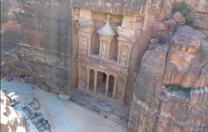 Храм-мавзолей Эль-Хазне в Петре