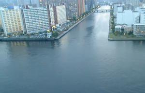 Канал Шиноном в районе Кото в Токио