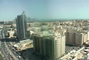 Панорама Дохи в Катаре