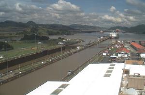 Шлюз «Miraflores» Панамского канала