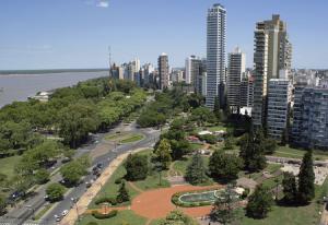 Панорама города Санта-Фе в Аргентине