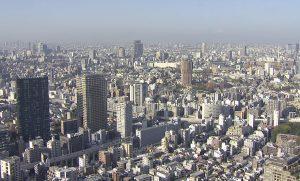 Токио с Телевизионной башни
