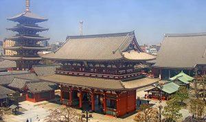 Храм Асакуса в Токио