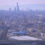 Панорама города Осака