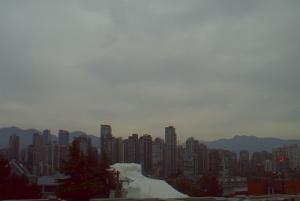 Веб камера в Ванкувере с видом на остров Гранвиль