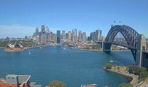 Панорама Центрального делового района Сиднея в Австралии