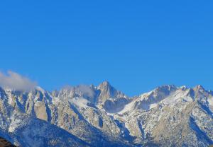 Гора Уитни в штате Калифорния