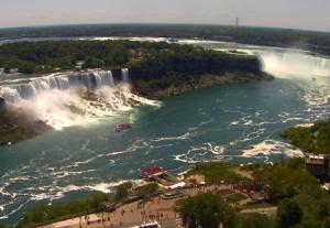 Ниагарский водопад из отеля Sheraton At The Falls