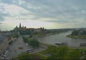 Веб камера Польши, панорама Кракова