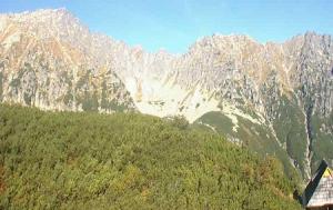 Бутинова долина в Татринском Национальном парке в Польше