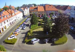 Рынок Sycowo в городе Сыцув в Польше