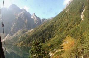 Вершина Монах в Татринском национальном парке в Польше