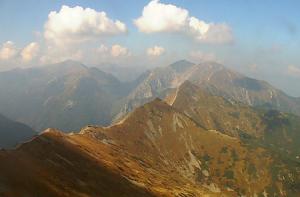 Долина Горычкова в Татринском национальном парке в Польше