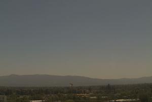 Метео камера в городе Сан-Хосе в Калифорнии