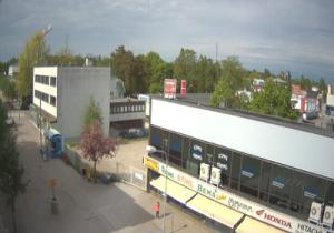 Панорама города Карис в Финляндии