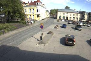 Главная площадь Расеборг в Финляндии