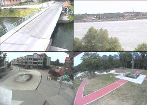 Веб камеры в городе Гижицко в Польше