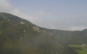 Вершина Каспровы Верх в Закопане в Польше