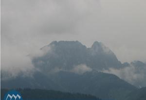 Панорама гор Татры в Закопане в Польше,