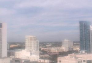 Панорама города Форт-Лодердейл в штате Флорида