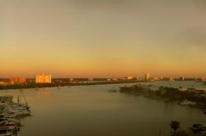 Бухта города Клируотер во Флориде