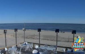 Пляж на острове Сент-Джордж в штате Флорида
