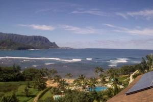 Залив Ханалей на острове Кауаи на Гавайских островах