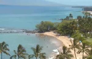 Пляж Уэйлея Бич на острове Мауи