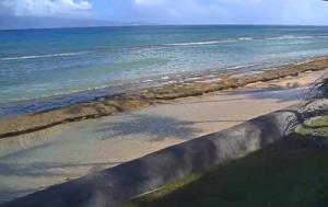 Пляж Кахекили на острове Мауи на Гавайских островах